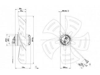 Осевой вентилятор A4E420AK0209 A4E420-AK02-09