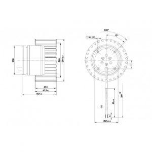 Вентилятор R1G085AB0501  R1G085-AB05-01