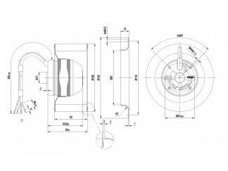 Вентилятор R2E108AA0105  R2E108-AA01-05