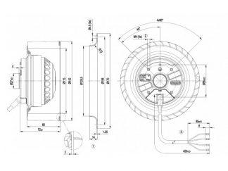 Вентилятор R2E140AS7705  R2E140-AS77-05