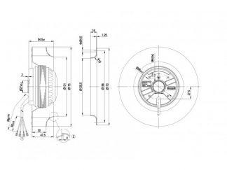 Вентилятор R2E175AC7715  R2E175-AC77-15