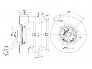 Вентилятор R2E190AO8422  R2E190-AO84-22