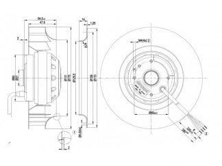 Вентилятор R4D175AE0811  R4D175-AE08-11