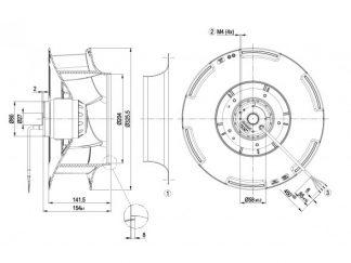Вентилятор R4E310RA0601  R4E310-RA06-01