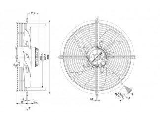 Осевой вентилятор S2D300AP0230 S2D300-AP02-30